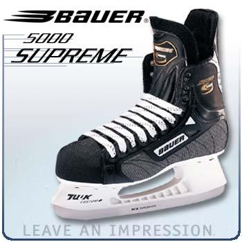 Bauer Supreme 5000 Hockey Skates CLOSEOUT ('00 Model)- Senior