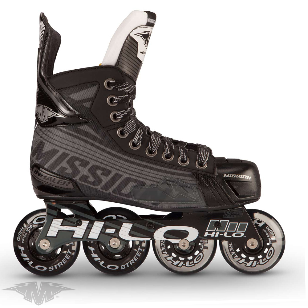 MISSION Inhaler DS:7 Roller Hockey Skate- Yth