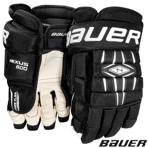 6ba4ad392d6 BAUER Nexus 800 Hockey Glove- Jr