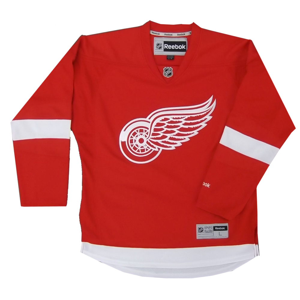 Reebok 7185 Center Ice Premier NHL Team Jersey- Detroit Sr baf956eb998