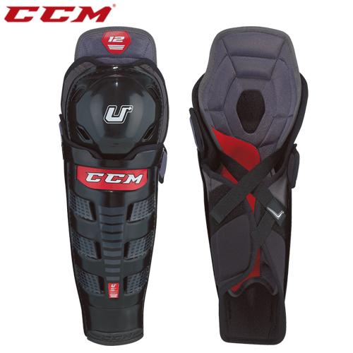 High Level Hockey Shin Guards CCM U+CL Shin Guards Size Senior