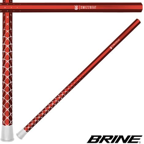 BRINE Swizzbeat Lacrosse Handle- Attack '14