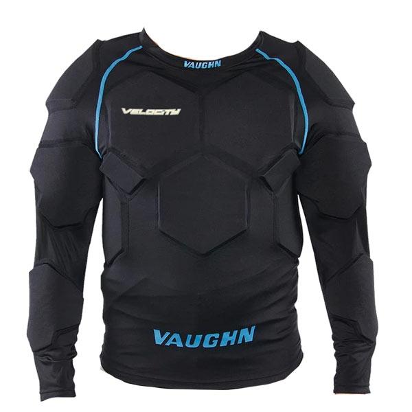 VAUGHN V9 Pro Padded Goalie Compression Shirt- Sr