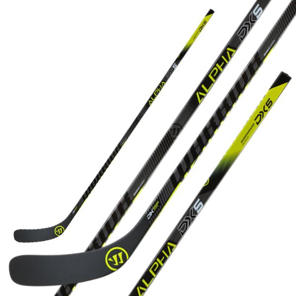 WARRIOR Alpha DX5 Grip Hockey Stick- Jr
