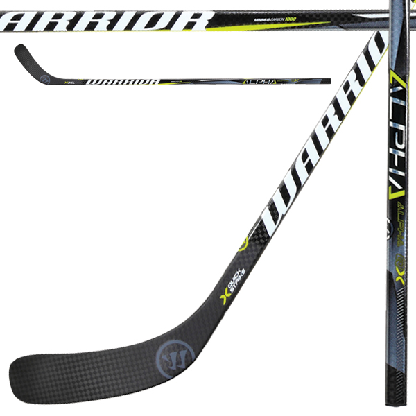 0b77a58c9d4 WARRIOR Alpha QX Grip Hockey Stick- Jr