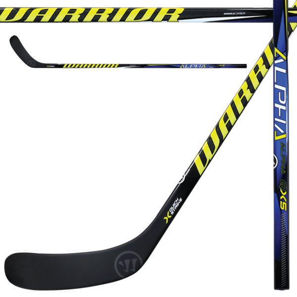 Warrior Alpha Qx5 Grip Hockey Stick Sr