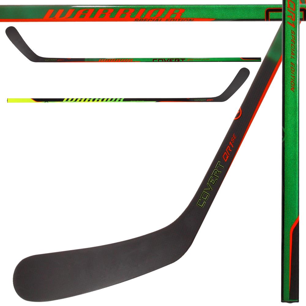 WARRIOR Covert QR1 SE Green Grip Hockey Stick- Sr