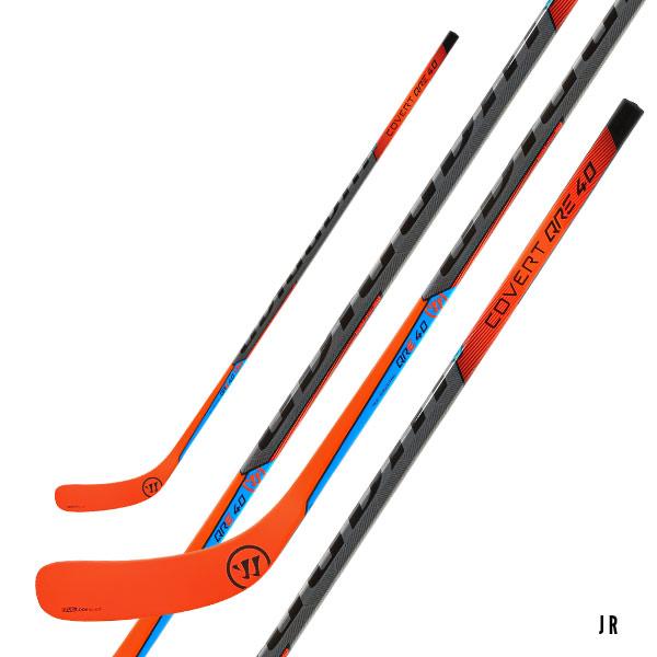 WARRIOR Covert QRE 40 Grip Hockey Stick- Jr