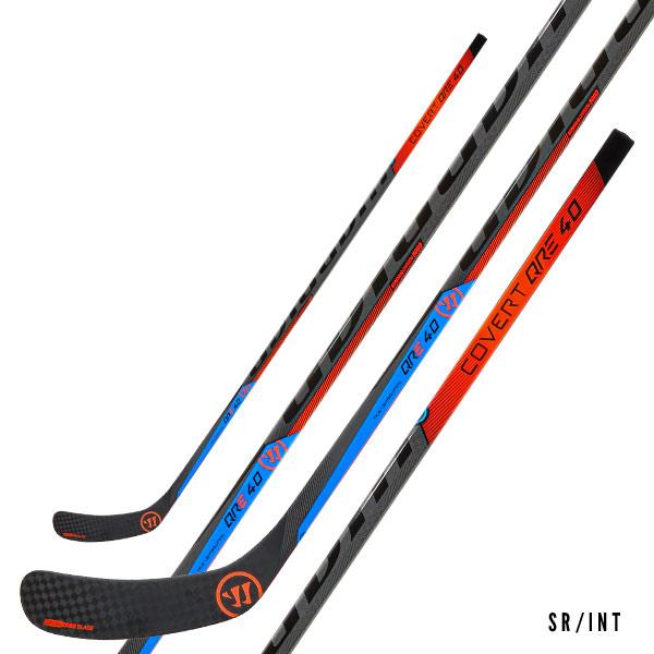 WARRIOR Covert QRE 40 Grip Hockey Stick- Sr