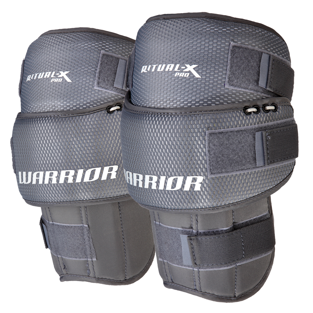 how to keep goalie knee pads in place