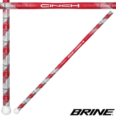 BRINE Cinch Tapered Grip Women's Lacrosse Handle- '13