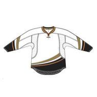 Anaheim 25P00 Edge Gamewear Jersey (Uncrested) - White- Senior
