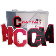 THE CAPTAIN Snap On Twill Standard 8 Pack Cs and As