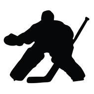 A&R Hockey Goalie Magnet
