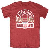 BARDOWN Hits Fights Redlights Tee- Sr
