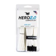 East Coast Hero 2.0 Complete Semi-Soft Lacrosse Mesh Kit