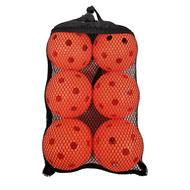 FLOORBALL PLANET Floorball Balls- 6 Pack