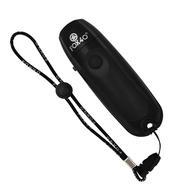 FOX 40 Black Electronic Whistle w/Loop Lanyard