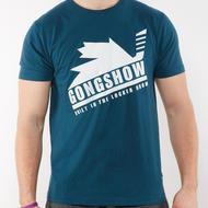 GONGSHOW Blue Crew Tee- Sr