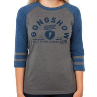GONGSHOW Snipe Stripes Womens Tee