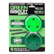 Green Biscuit Training Puck 2-Pack