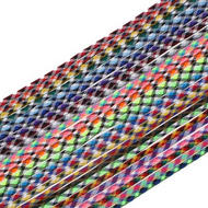 JIMALAX Tri-Color Tipped Shooting Laces