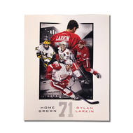 SECOND STORY Dylan Larkin Home Grown 8x10 Picture